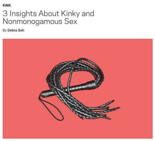 3 Insights About Kinky and Nonmonogamous Sex